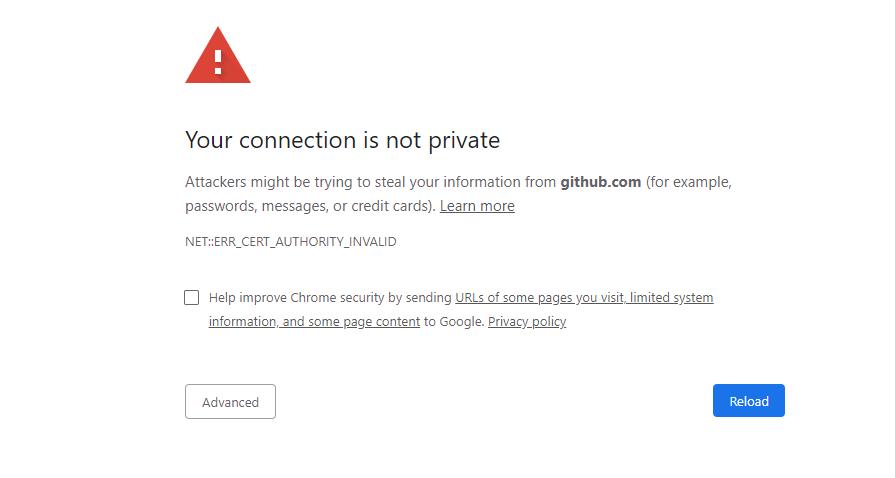 Chrome不能打开github