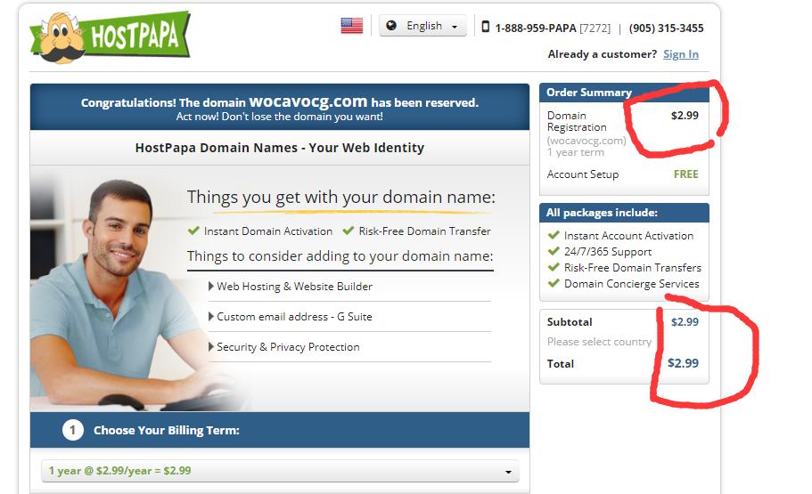 国外注册com域名仅需要$2.99,优惠活动3月22号截止,要的赶紧! 4