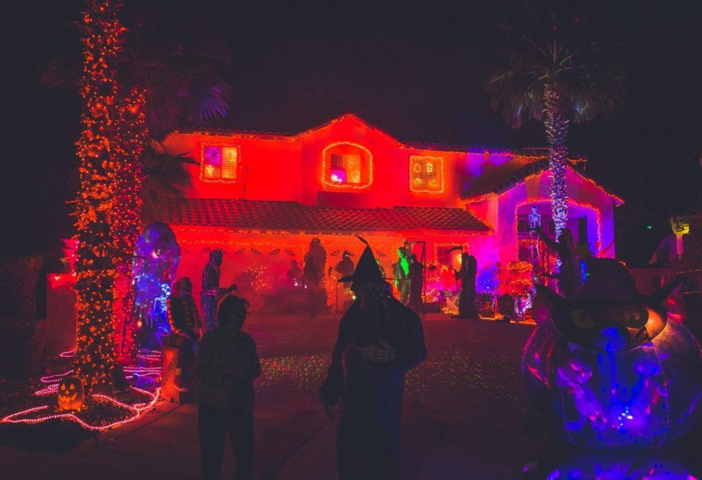 万圣节家庭聚会