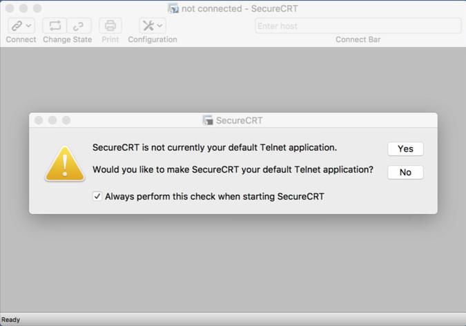 MAC SSH连接工具,可以试试iTerm2和SecureCRT 1