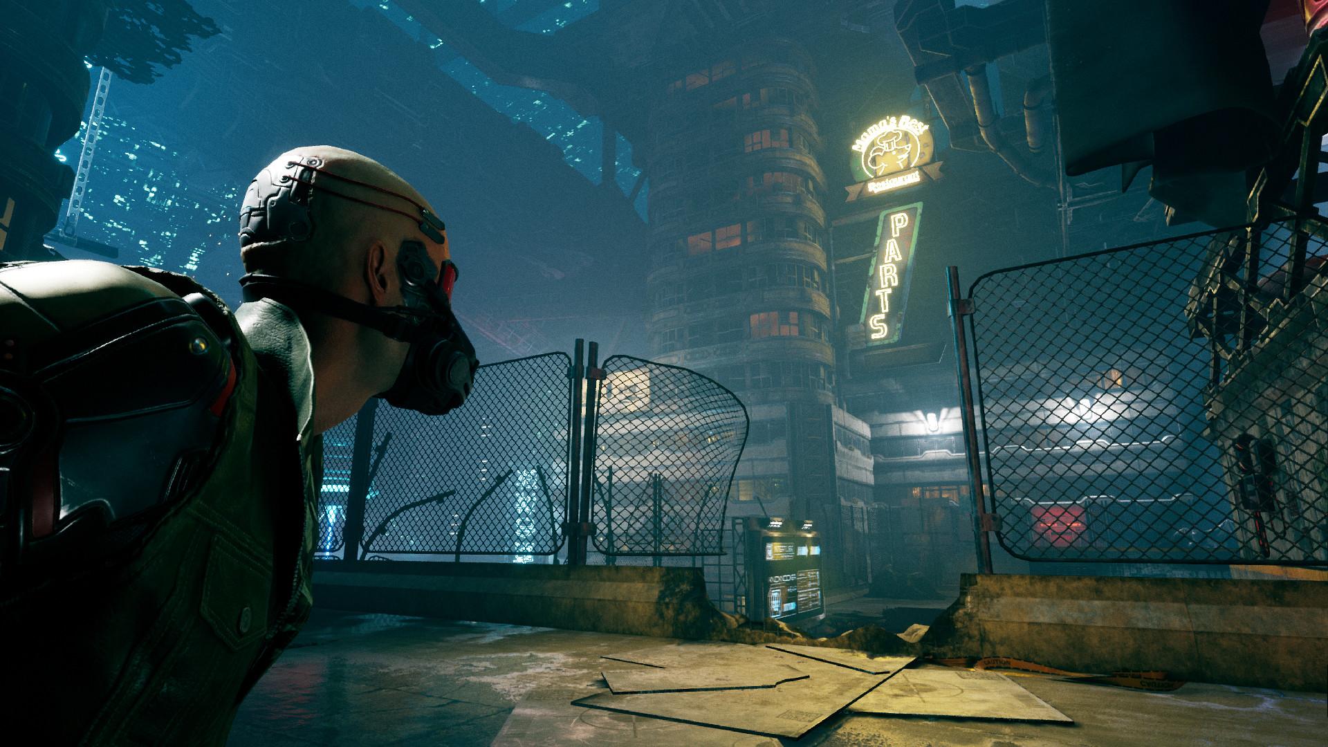 2020年的PC游戏-Ghostrunner