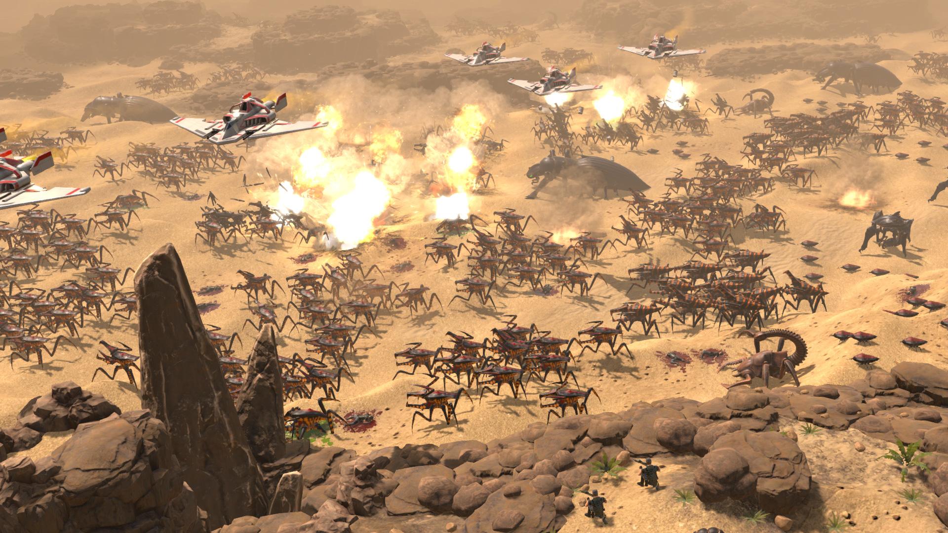 星际飞船士兵-人族指挥部