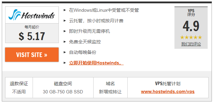 2020年8种最便宜VPS托管服务:最便宜虚拟服务器 1
