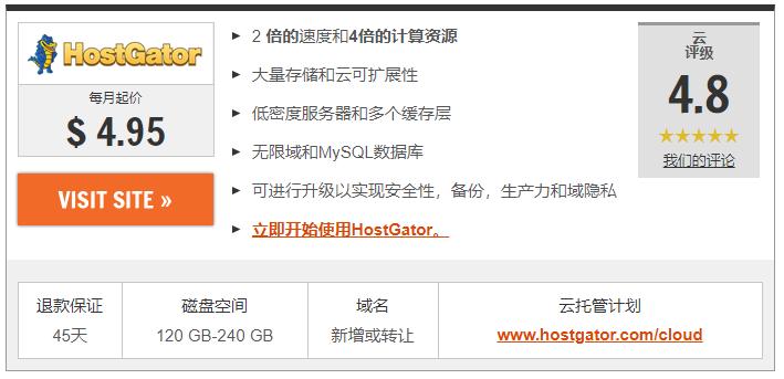 2020年8种最便宜VPS托管服务:最便宜虚拟服务器 3