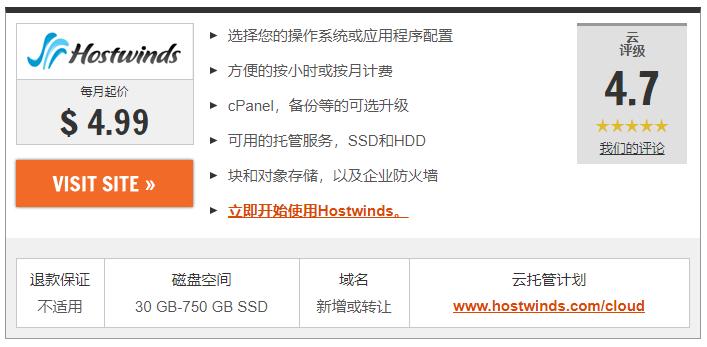 2021年8种最便宜VPS托管服务:最便宜虚拟服务器 4