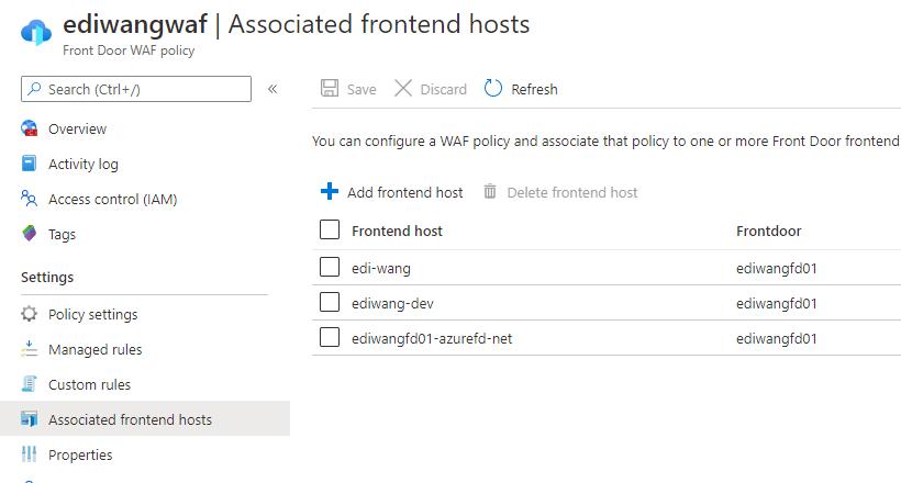 使用 Azure Web 应用防火墙拦截黑客攻击 5