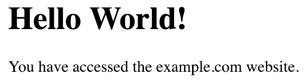 example.com网站