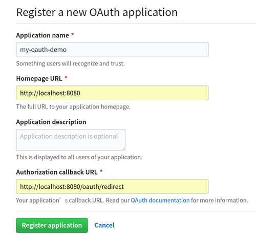 OAuth第三方登录示例教程之Github 1