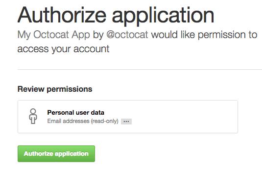 OAuth第三方登录示例教程之Github 3
