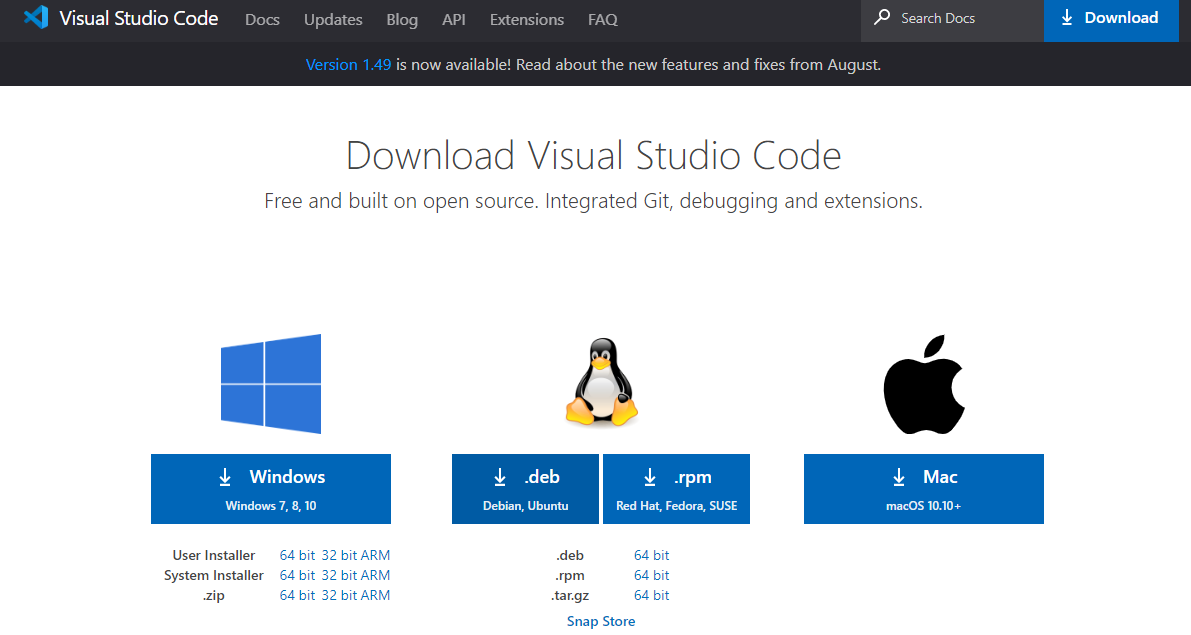 vs code配置go开发环境