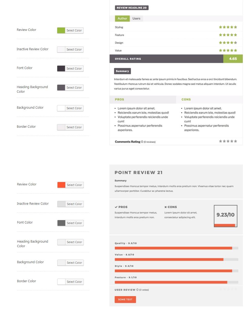 2020最新WP Review Pro插件全局设置中文简介 21
