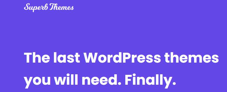 最好的6个WordPress主题1