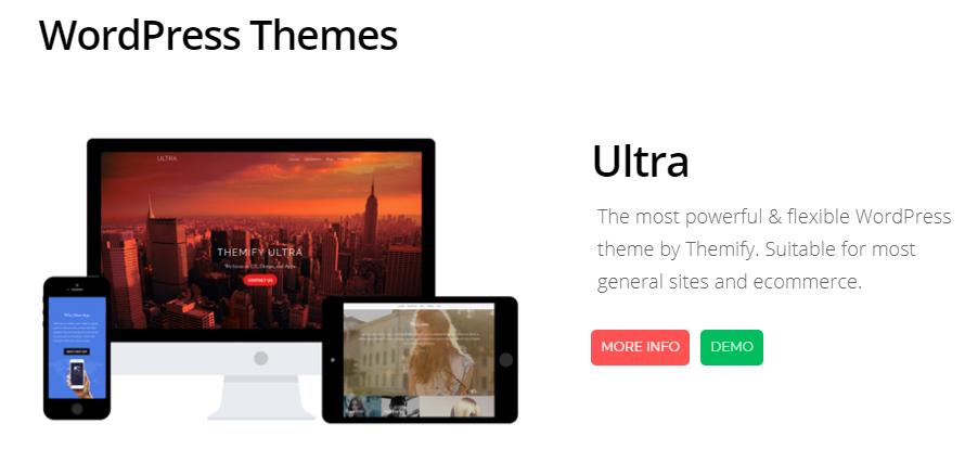 The best 6 WordPress themes 3