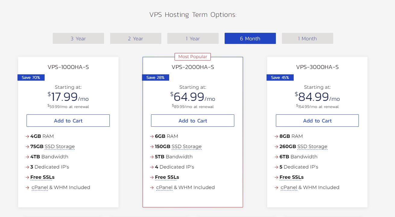 InMotion – 最佳的整体VPS托管提供商