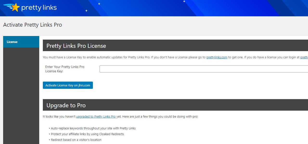 隐藏推广链接插件,WordPress插件Pretty Links 2021 2