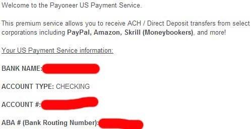 美国银行账户Payoneer卡,Amazon联盟收款必备 4