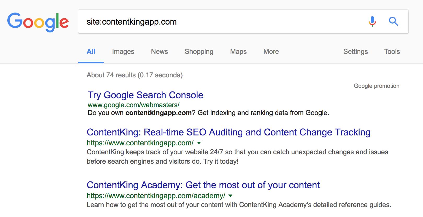 谷歌网站查询