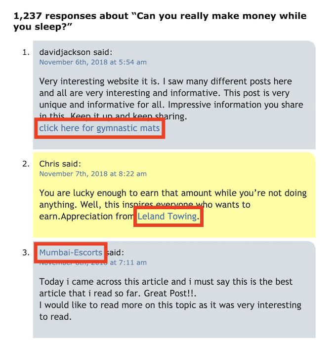 dofollow 反向链接示例