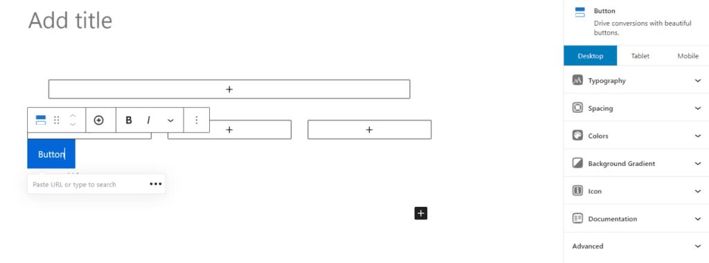 Generateblocks 按钮自定义