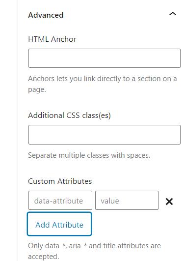 Generateblocks Pro 自定义属性