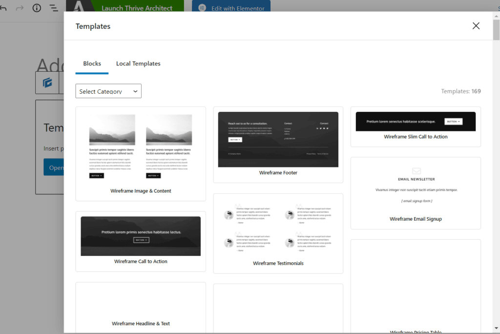 Generateblocks Pro 模板