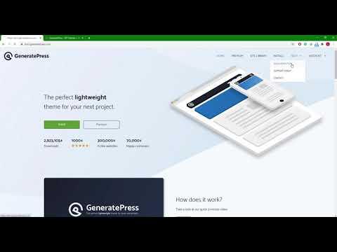 2021最新GeneratePress主题测评 1