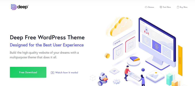 DEEP 免费版WordPress主题