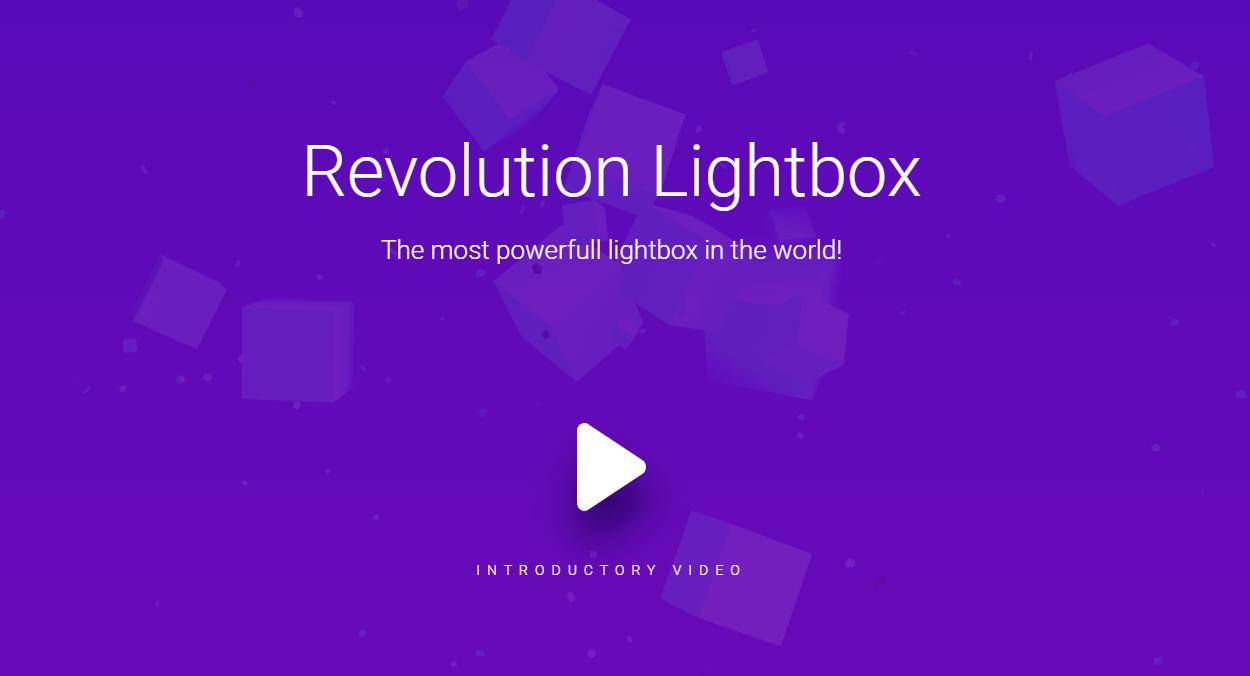 Revolution Lightbox灯箱插件