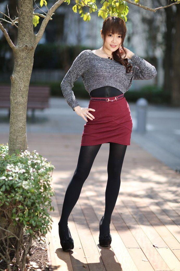 冬天穿丝袜的美女你喜欢吗? 2